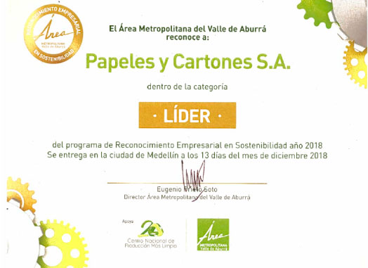 Papelsa, empresa líder en sostenibilidad
