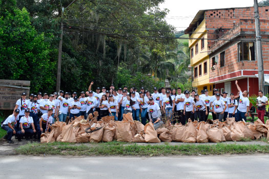 In PAPELSA we join the world cleaning day