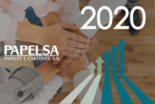 SOMOS MÁS QUE UNA EMPRESA DE CARTÓN CORRUGADO, SOMOS TU SOCIO PARA LOGRAR TUS OBJETIVOS EN ESTE 2020.